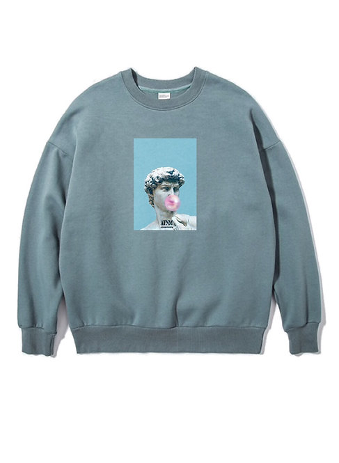 Bubble Gum Crewneck Mint