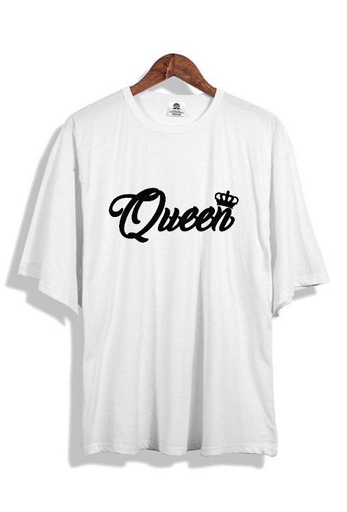 Queen Tee white
