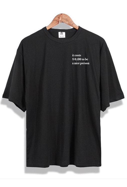 Zero T-Shirt Black