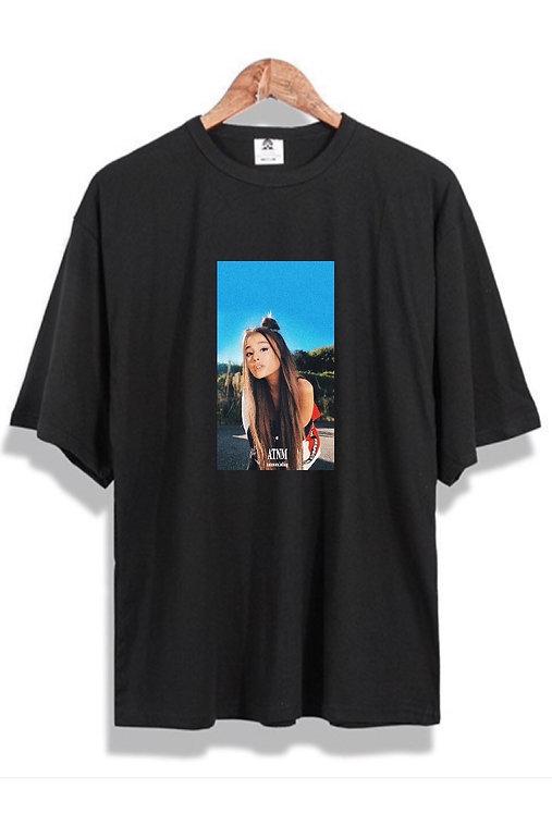 Ariana Grande Tee Black