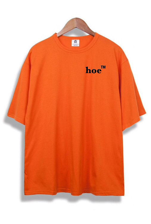 Hoe T-Shirt Orange