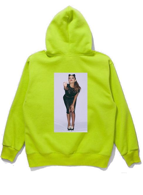 Ariana Grande Fuck Hoodie Neon