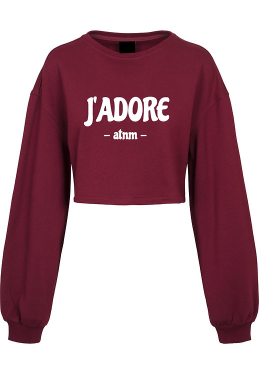 J´ADORE Crop Sweater