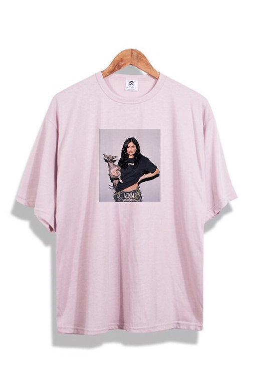 Kylie Jenner T-Shirt Pink