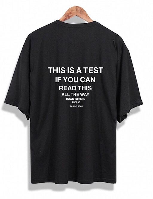 Test T-Shirt Black