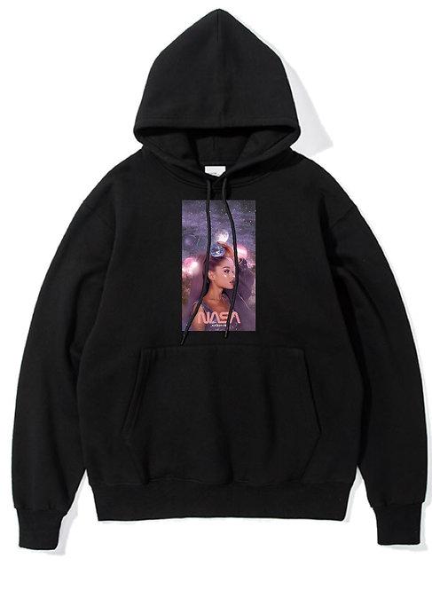 Ariana Grande Nasa Hoodie Black