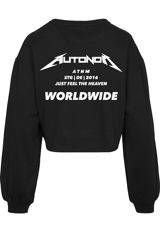 Worldwide Crop Sweater