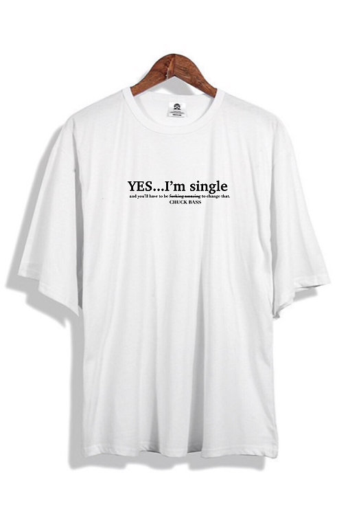 Only Chuck Bass T-Shirt White