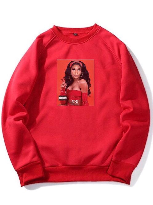 Nicki Minaj Crewneck Red