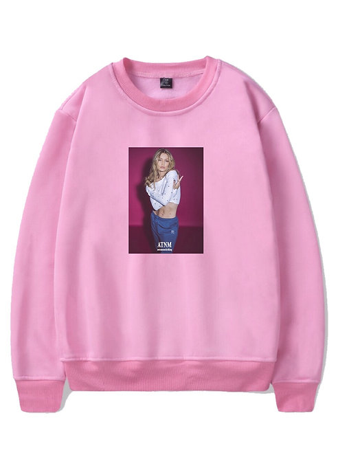 Gigi Hadid Crewneck Pink