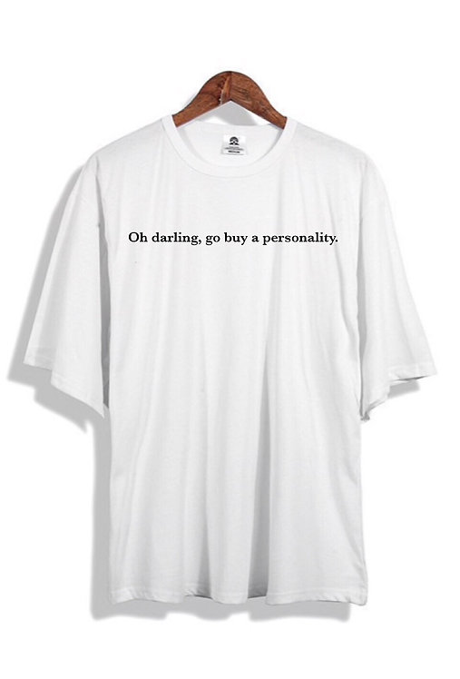 Oh Darling T-Shirt White