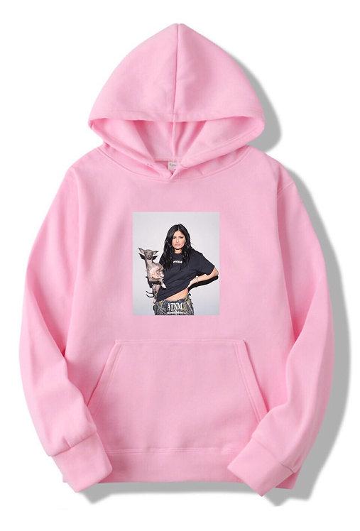 Kylie Jenner Hoodie Pink