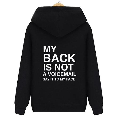 Voicemail Hoodie Black