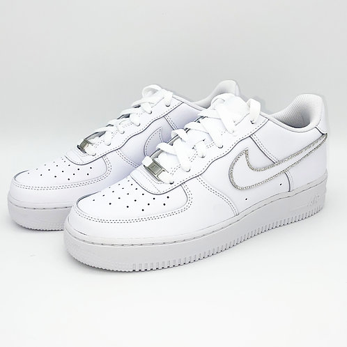 Air Force 1 Glitzer Umrandung