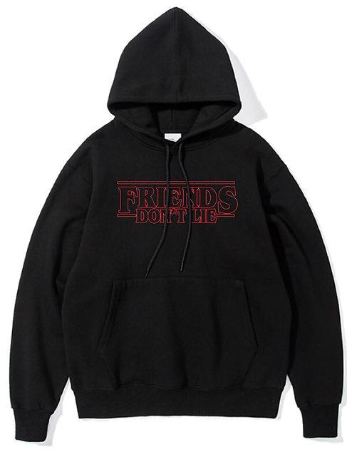Friends Don't Lie Hoodie Black
