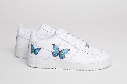 Air Force 1 - Schmetterlinge Blau