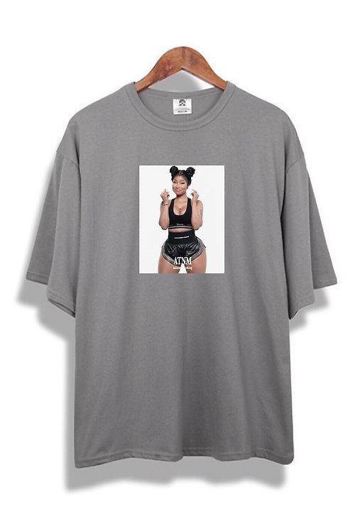 Nicki Minaj Tee Grey