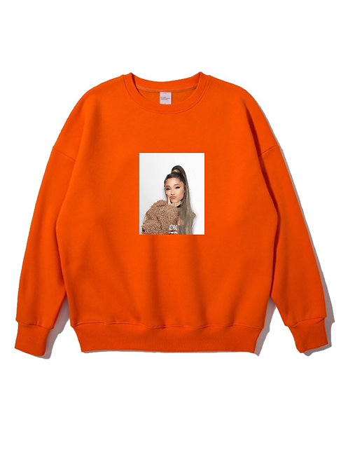 Ariana Grande Crewneck Orange
