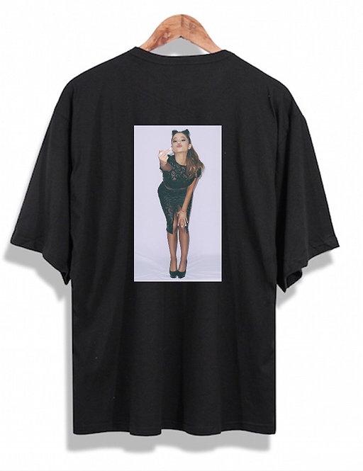 Ariana Grande Fuck Tee Black