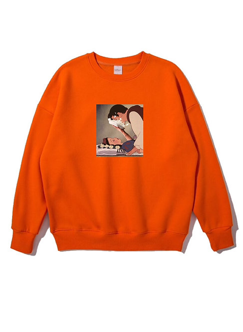Snowwhite Cake Crewneck Orange