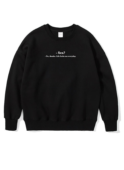 Sex Crewneck Black