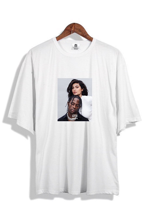 Kylie X Travis T-Shirt White