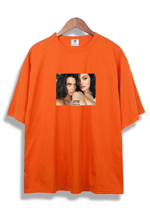 Feaky Kardashian T-Shirt Orange