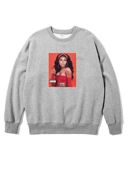 Nicki Minaj Crewneck Grey