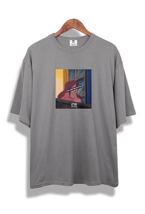 Your Beautiful T-Shirt Grey