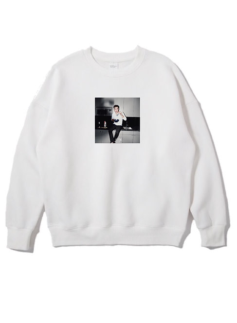 Chuck Bass Crewneck White