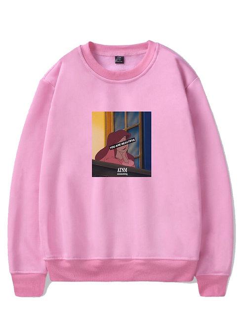 Your Beautiful Crewneck Pink