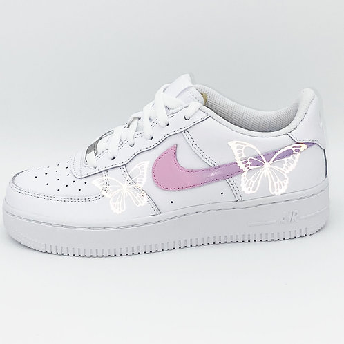 Air Force 1 Pastell Reflective Butterfly