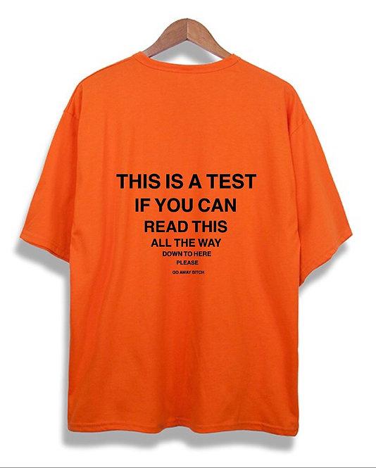 Test T-Shirt Orange