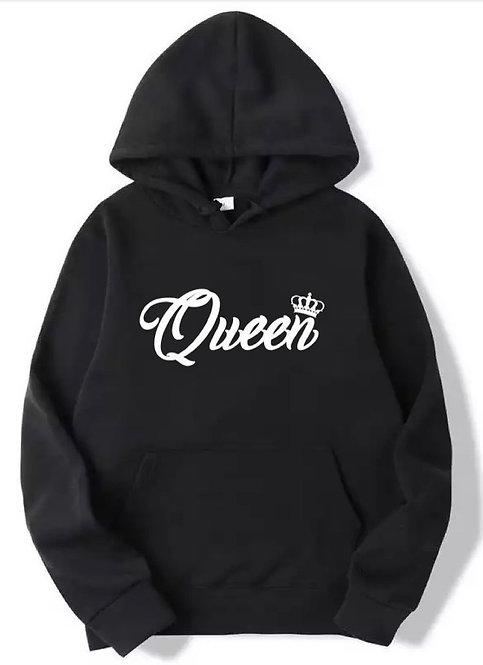 Queen Hoodie black