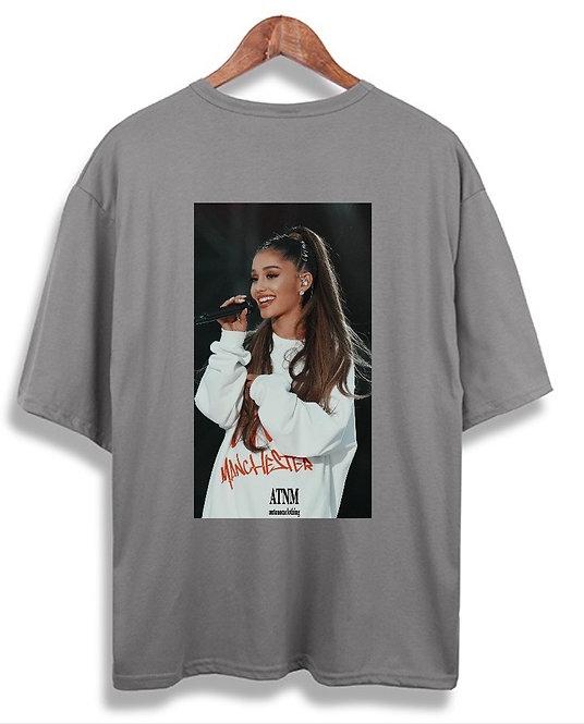 Ariana Grande Tee Grey