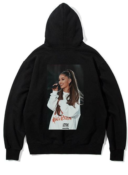 Ariana Grande Hoodie Black