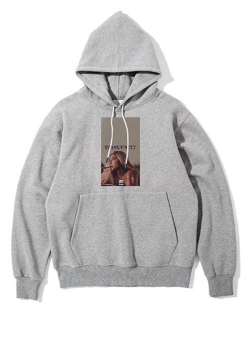 Ariana Grande Hoodie Grey