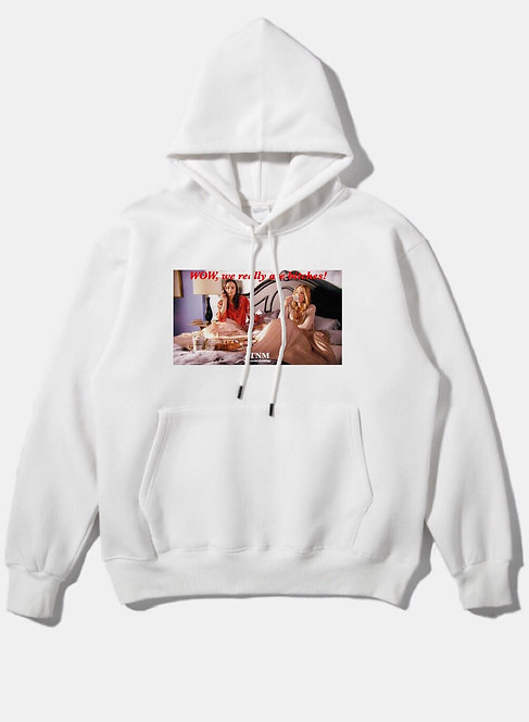 Really Bitches Hoodie White