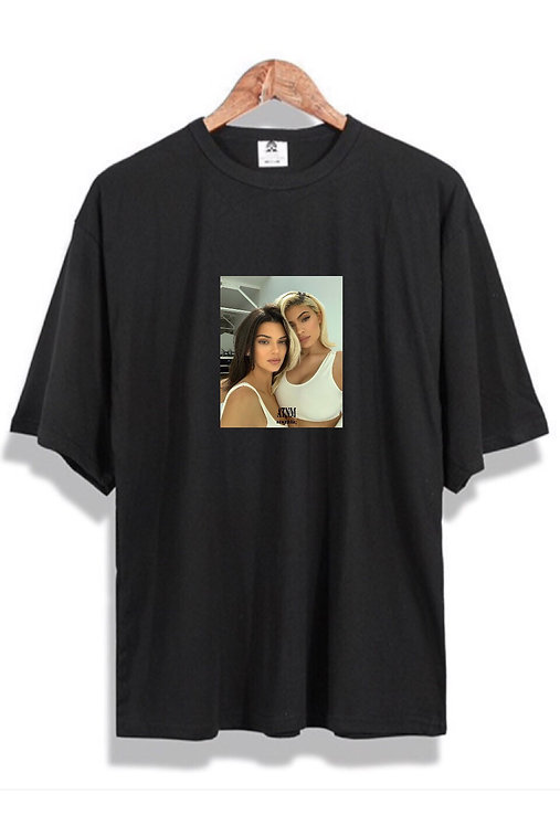 Kardashian Duo T-Shirt Black
