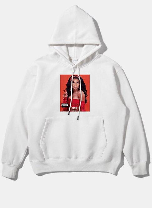 Nicki Minaj Hoodie White