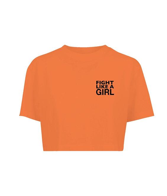 Fight Girl Crop Tee