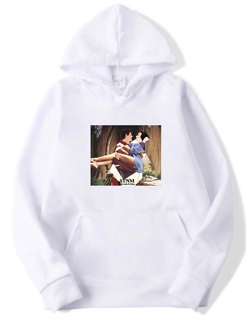 Marry Hoodie white