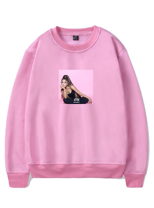 Ariana Grande Crewneck Pink