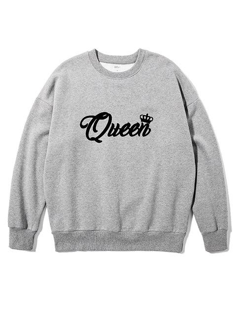 Queen Crewneck grey