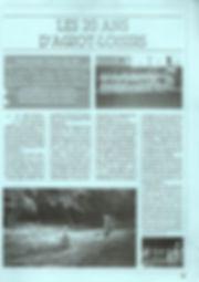 20 ans Agiot Loisirs (magazine de la vil