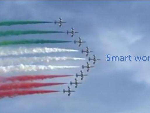 Área de Compras na Itália adota o Smart Work em tempos de covid-19
