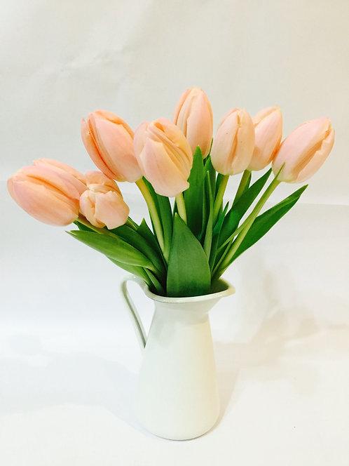 Bedside Tulips-Pink