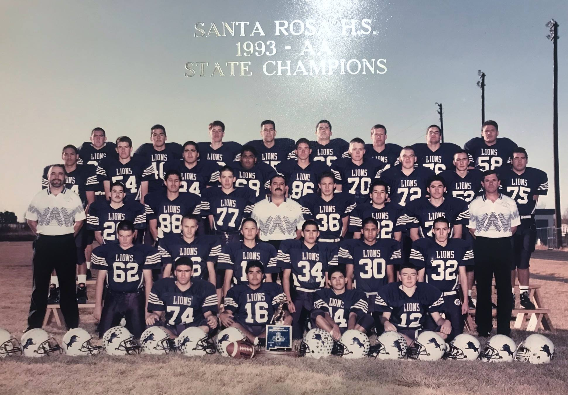 1993 Mighty Lion Football