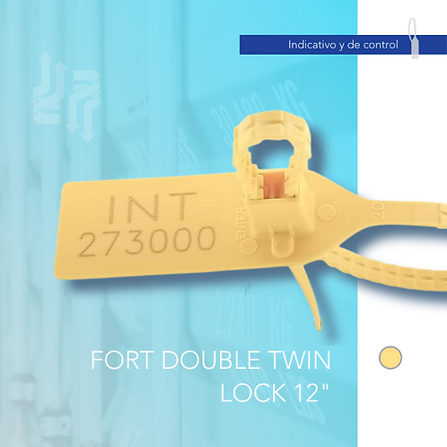 """Fort Double Twin Lock 12"""""""