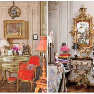 """Architectural Digest"" spoils us with another perspective. . . Iris Apfel's NYC home is an ode to her definition of fashion."